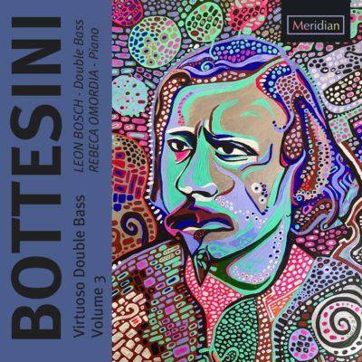 Meridian Records Bottesini Volume 3 CD cover